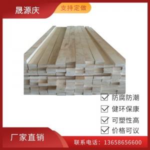 厂家直销大型包装箱横梁用杨木LVL免熏蒸木方 杨木多层板