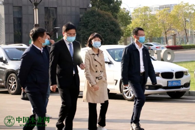 金华市组织副部长莅临欧意指导防疫及复产工作