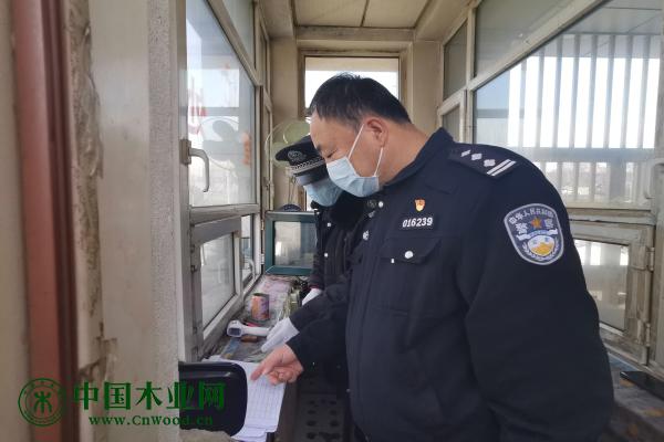 哈尔滨道里警方精准助力辖区木业企业复产复工