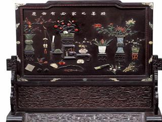 红木家具的镶嵌工艺