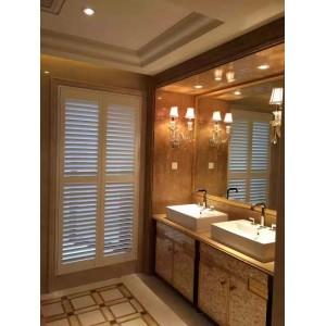 实木百叶窗、木透气窗定制