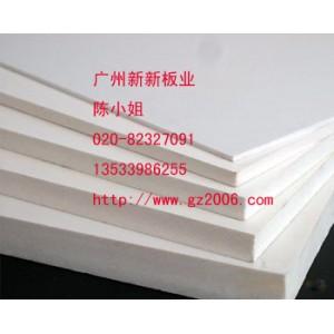 湛江PVC硬质发泡板开平硬面PVC共挤板高速公路隔音板