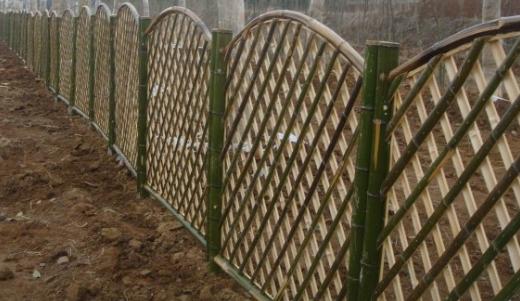 竹子批发、竹子围栏、栏杆、门头亭廊