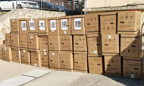 10万只口罩|绥芬河通明木业再次解囊支援抗疫