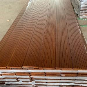 户外高耐重竹地板 竹木地板 碳化防腐竹地板 阳台露台公园地板