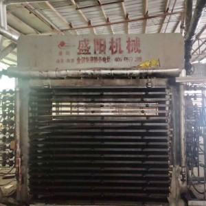 临沂胶合板热压机厂家出售4x8尺18层热压机一台