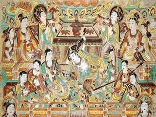 说说敦煌壁画和古典家具中的佛心禅语!