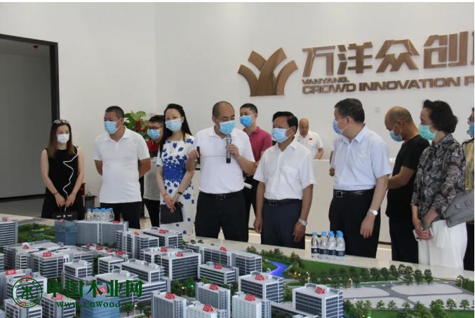 中国轻工业联合会、中国家具协会一行到访顺德龙江,进行行业调研
