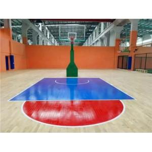 运动木地板翻新