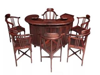 """红木茶台家具,有德便是""""材"""""""