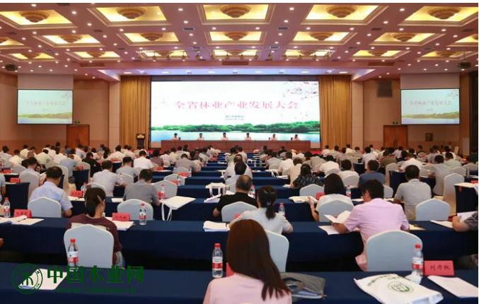 浙江省林业产业发展大会在杭州召开