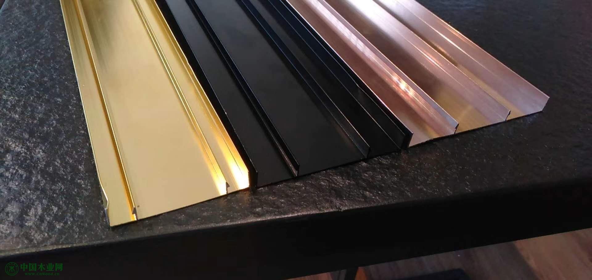 新型墙面装饰铝合金线材料