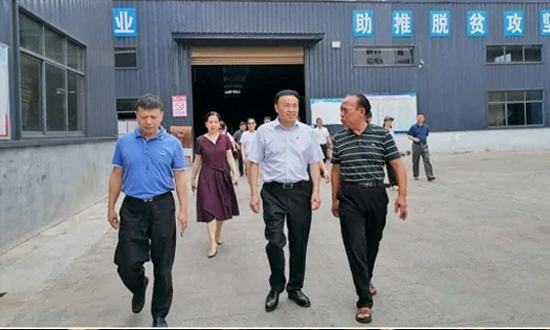 郴州市人民政府副市长一行调研桂东众意竹木发展有限公司