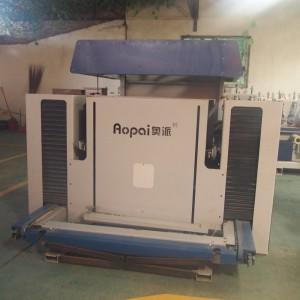 奥派 全自动线条堆剁机 家具橱柜 木工全自动砂光机厂家