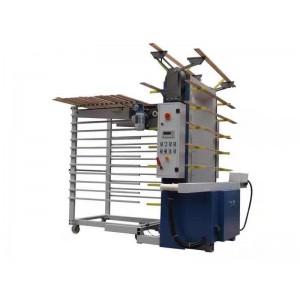 奥派全自动线条上架机 板式家具 楼梯  线条砂光机厂家
