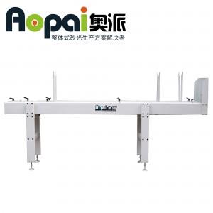 奥派 线条送料机(气动式)橱柜木门线条砂光配套设备