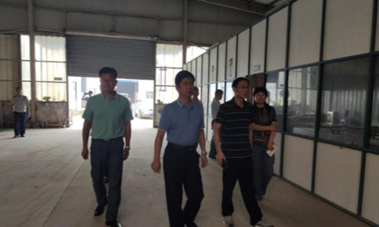 宿迁市木材加工和家具制造产业转型升级第四督导组到宿豫开展督导工作