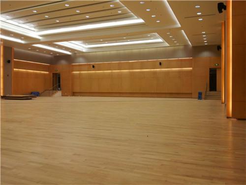 山东羽毛球馆体育木地板