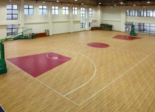 山东羽毛球馆体育木地板厂家