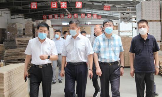 牡丹江市人大常委会领导一行到国林betway必威官网手机版下载城专项调研