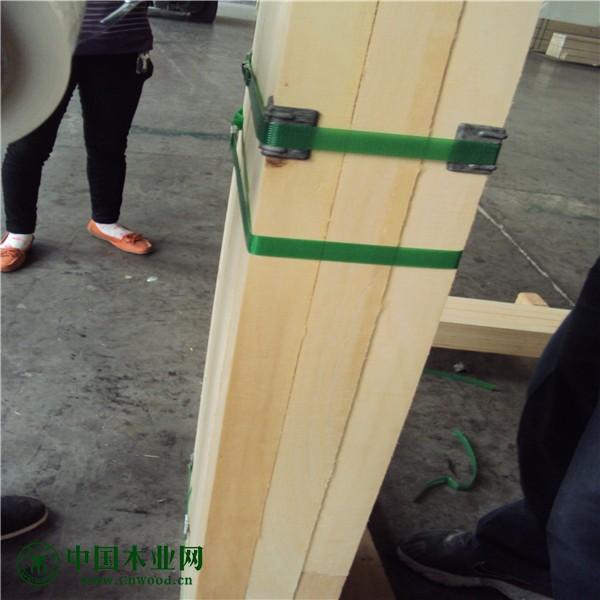 国内做门用的门芯材 杨木LVL 门芯材用单板层积材