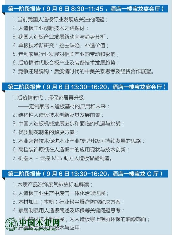 第十九届全国人造板会明天开幕,三个阶段会议着力探讨行业新发展