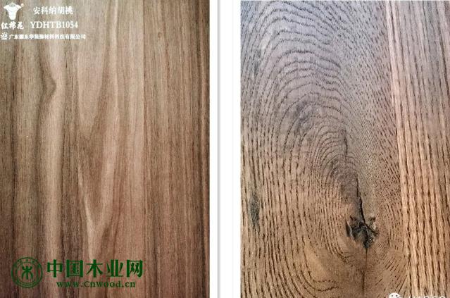 华翔HAPCO全自动双幅面视觉识别精准对纹快速贴面生产线成功投产!