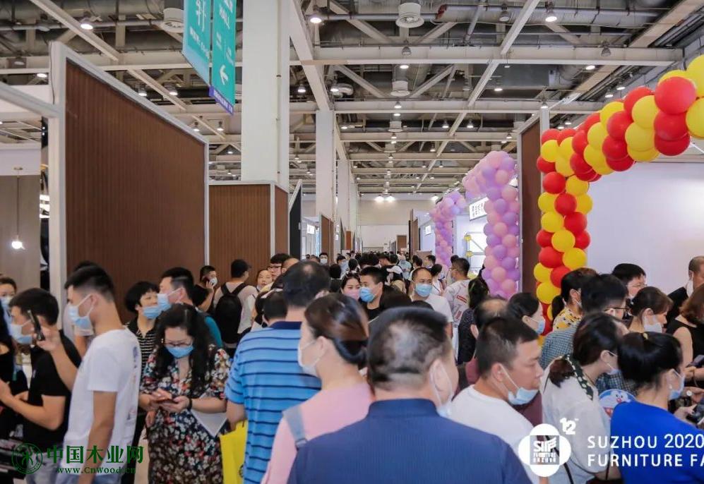 第12届苏州家具展览会在苏州国际博览中心开幕