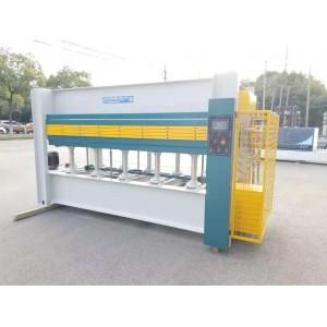 上海供应木饰面板贴面专用电加热三层热压机
