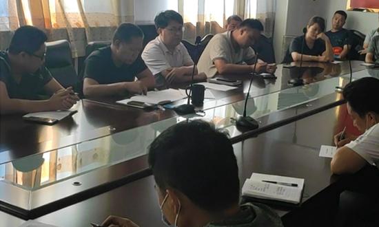石家庄鹿泉区召开木材加工企业消防安全专项整治三年行动推进会