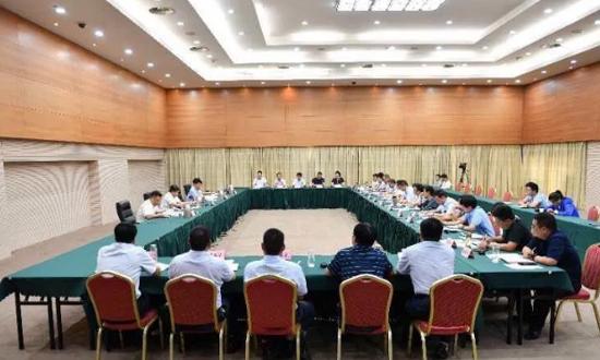 沭阳县委县政府召开污染防治暨木材转型升级会办会