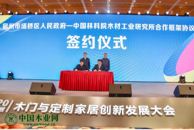 2020中国(宿州)木门与定制家居创新发展大会暨第六届中国木门先进制造技术研讨会开幕式在埇桥区举行