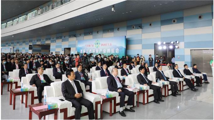 首届江西林业产业博览会盛大开幕