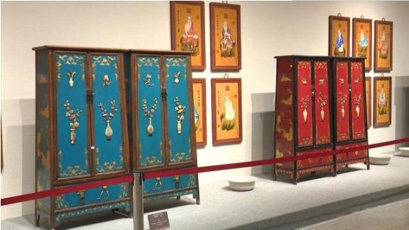 菏泽明清家具艺术馆开馆 2500余件藏品展出