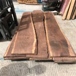 非洲黑檀木毛边材木料 实木工艺木制家具料楼梯踏板扶手