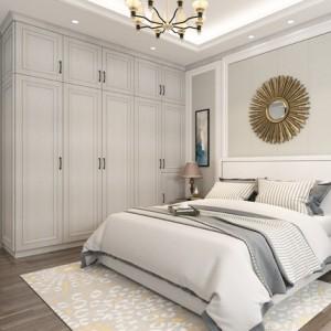 皮阿诺定制整体平开门衣柜衣帽间定做组合柜卧室家具欧式开放式