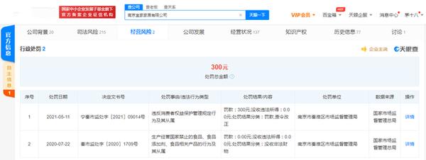 南京宜家被罚:不以真实名称和标记提供商品