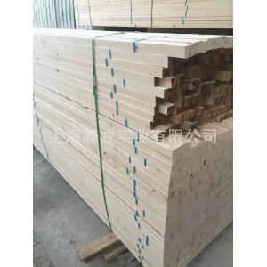 供应白松烘干建筑木方价格 吊顶木龙骨 床板托盘料四面抛光