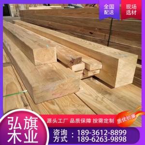 厂家供应南方松木 南方松烘干板材 木方定尺加工 质优价廉