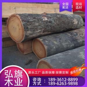 厂家直供菠萝格原木 防腐木 菠萝格板材 加工定制 质优价廉