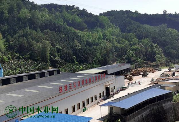 贵州兴义三江口镇木业产业振兴引雁归