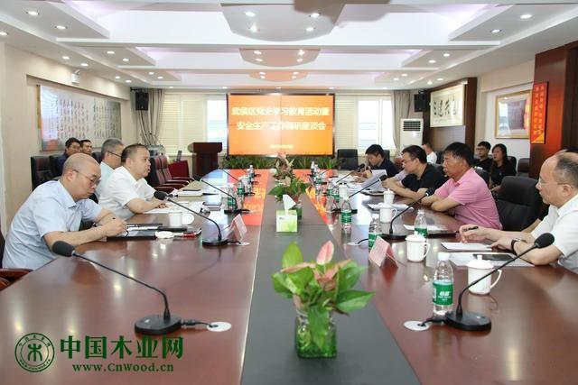成都市武侯区委书记陈麟调研八益家具城安全生产工作