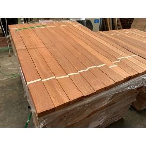 苏州张家港红巴劳地板防滑槽地板 防腐木阳台庭院地板防滑槽地板