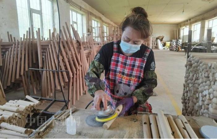勃勃生机 木制品产业成辉南县抚民镇支柱产业
