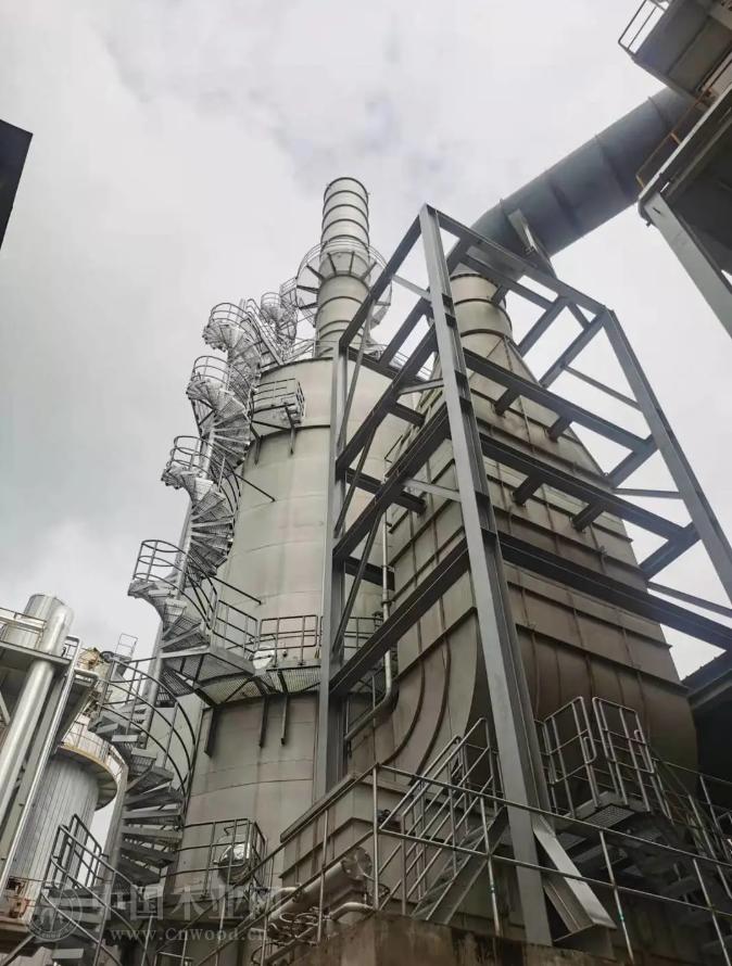 万华禾香板业(怀远)公司干燥尾气处理系统顺利完成调试